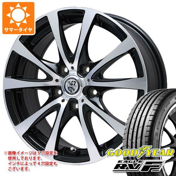 サマータイヤ 165/60R15 77H グッドイヤー イーグル RV-F TRG-BAHN XP 4.5-15 タイヤホイール4本セット