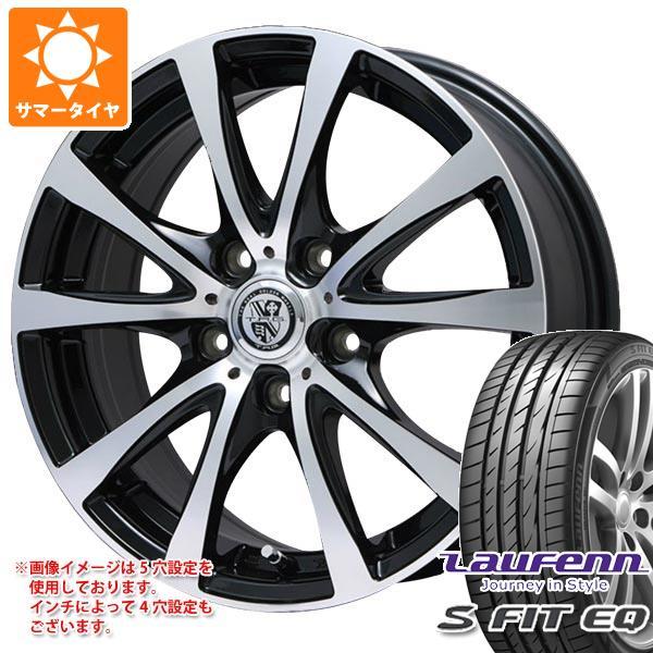 サマータイヤ 225/45R17 94Y XL ラウフェン Sフィット EQ LK01 TRG-BAHN XP 7.0-17 タイヤホイール4本セット