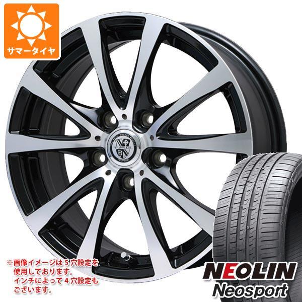 サマータイヤ 215/45R17 91W XL ネオリン ネオスポーツ TRG-BAHN XP 7.0-17 タイヤホイール4本セット