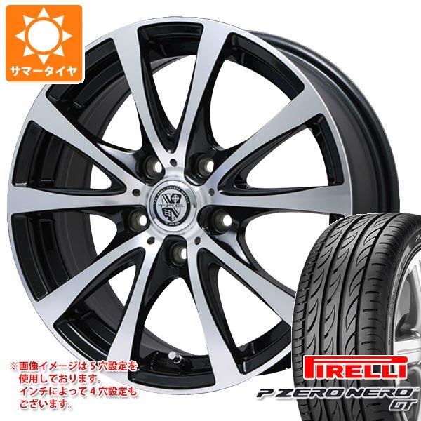 正規品 サマータイヤ 195/45R16 84V XL ピレリ P ゼロ ネロ GT TRG-BAHN XP 6.0-16 タイヤホイール4本セット