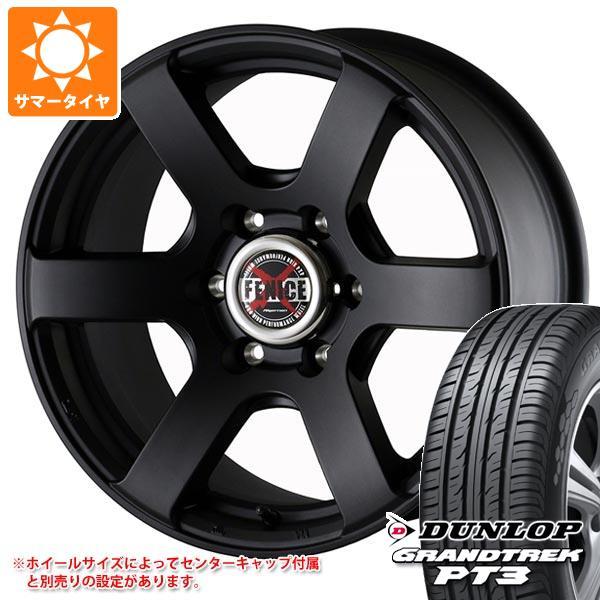 サマータイヤ 215/70R16 100H ダンロップ グラントレック PT3 ドゥオール フェニーチェ クロス XC6 MBK 7.0-16 タイヤホイール4本セット