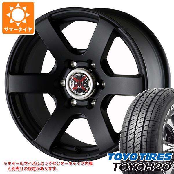 サマータイヤ 215/60R17 109/107R トーヨー H20 ホワイトレター ドゥオール フェニーチェ クロス XC6 MBK 7.0-17 タイヤホイール4本セット