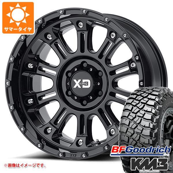正規品 サマータイヤ 285/55R20 122/119Q BFグッドリッチ マッドテレーン T/A KM3 ブラックレター KMC XD829 ホス2 9.0-20 タイヤホイール4本セット