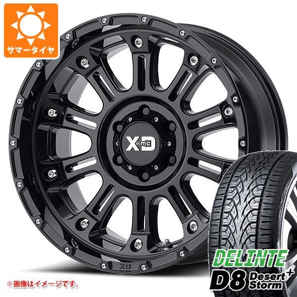 サマータイヤ 275/55R20 117V XL デリンテ D8 デザートストームプラス KMC XD829 ホス2 9.0-20 タイヤホイール4本セット