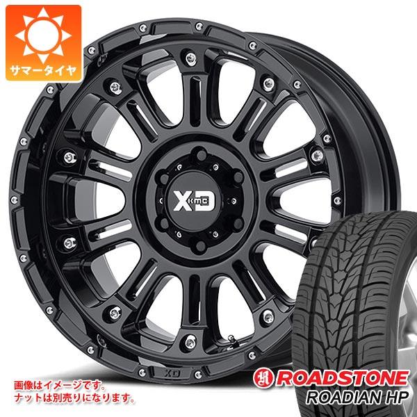 サマータイヤ 275/55R20 117V XL ロードストーン ローディアン HP KMC XD829 ホス2 9.0-20 タイヤホイール4本セット