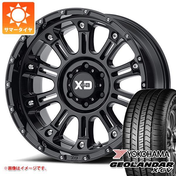 サマータイヤ 265/50R20 111W XL ヨコハマ ジオランダー X-CV G057 KMC XD829 ホス2 9.0-20 タイヤホイール4本セット
