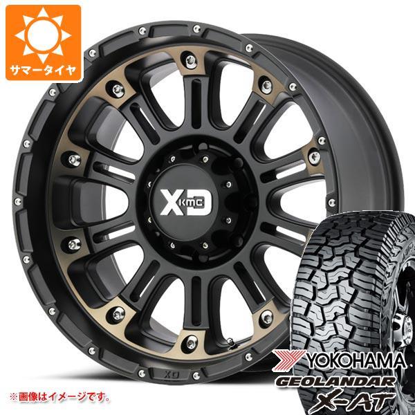 サマータイヤ 265/65R17 120/117Q ヨコハマ ジオランダー X-AT G016 KMC XD829 ホス2 9.0-17 タイヤホイール4本セット