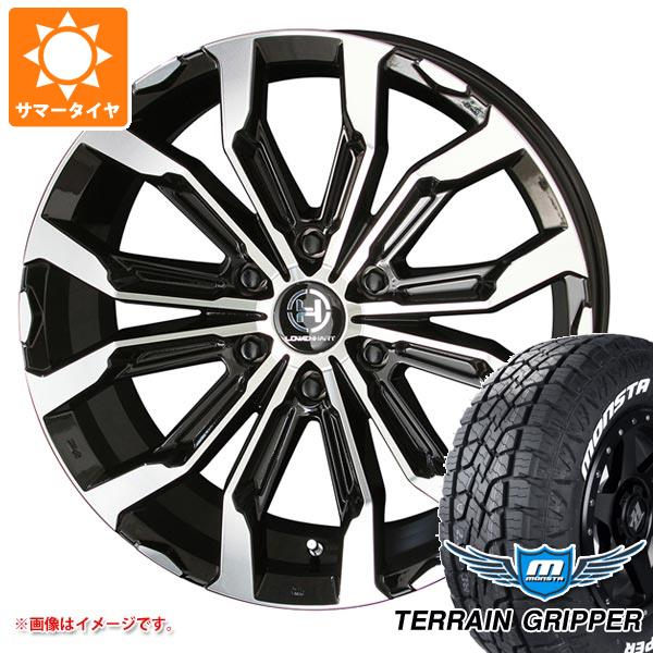 サマータイヤ 285/55R20 122/119Q モンスタ テレーングリッパー ホワイトレター レーベンハート GXL106 8.5-20 タイヤホイール4本セット
