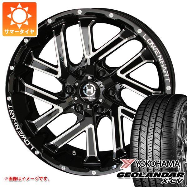サマータイヤ 265/50R20 111W XL ヨコハマ ジオランダー X-CV G057 レーベンハート GXL206 8.5-20 タイヤホイール4本セット