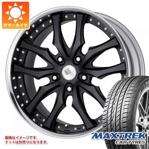 サマータイヤ 265/40R22 106V XL マックストレック フォルティス T5 LS パラゴン SUV 8.5-22 タイヤホイール4本セット