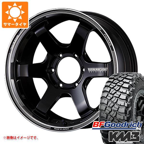 サマータイヤ 265/60R18 119/116Q BFグッドリッチ マッドテレーン T/A KM3 ブラックレター レイズ ボルクレーシング TE37SB ツアラー 8.0-18 タイヤホイール4本セット