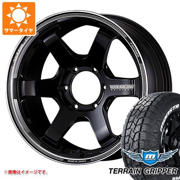 サマータイヤ 265/60R18 114T XL モンスタ テレーングリッパー ホワイトレター レイズ ボルクレーシング TE37SB ツアラー 8.0-18 タイヤホイール4本セット