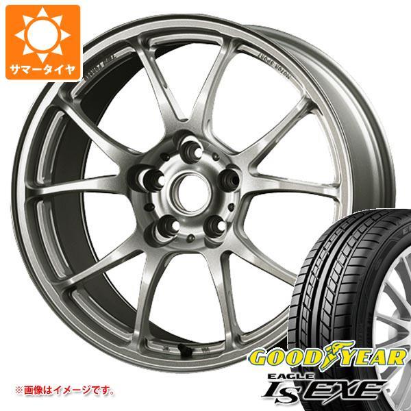 サマータイヤ 235/45R17 94W グッドイヤー イーグル LSエグゼ TWS モータースポーツ T66-F 8.0-17 タイヤホイール4本セット