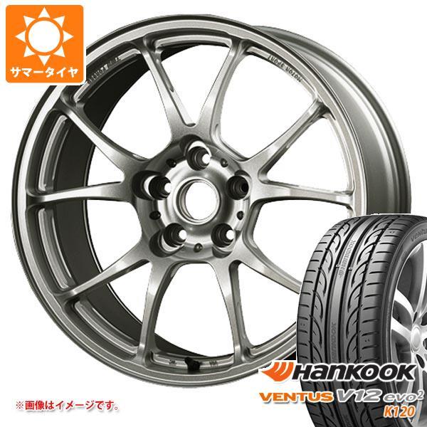 サマータイヤ 215/50R17 95W XL ハンコック ベンタス V12evo2 K120 TWS モータースポーツ T66-F 7.5-17 タイヤホイール4本セット