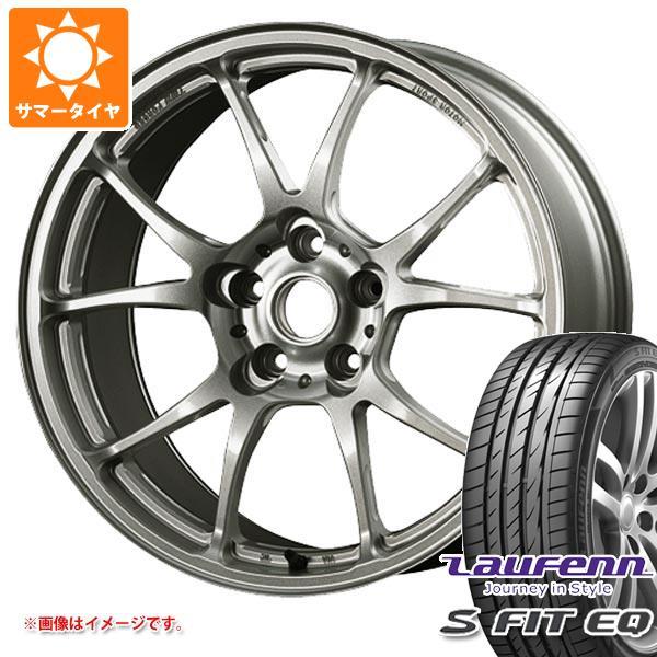 サマータイヤ 235/45R17 97Y XL ラウフェン Sフィット EQ LK01 TWS モータースポーツ T66-F 8.0-17 タイヤホイール4本セット