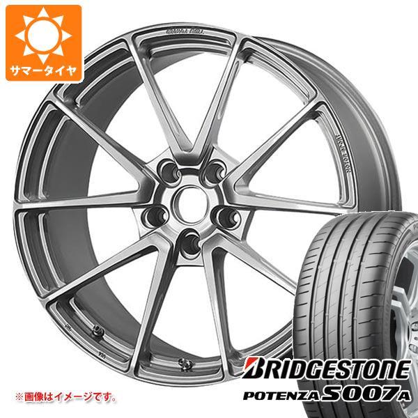 サマータイヤ 245/40R18 97Y XL ブリヂストン ポテンザ S007A TWS モータースポーツ T66-GT 8.5-18 タイヤホイール4本セット