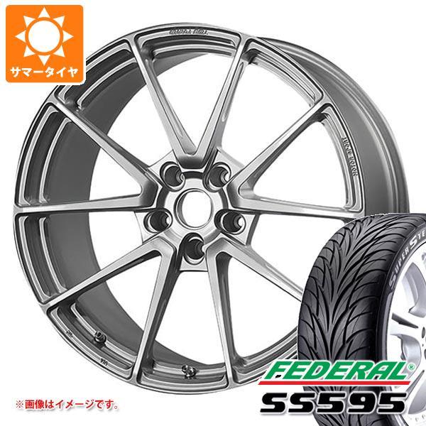 サマータイヤ 225/40R18 88W フェデラル SS595 TWS モータースポーツ T66-GT 8.0-18 タイヤホイール4本セット