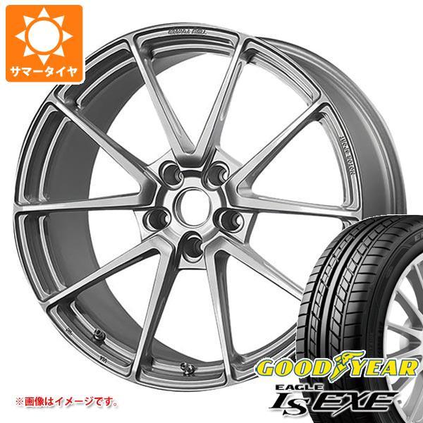 サマータイヤ 245/40R18 97W XL グッドイヤー イーグル LSエグゼ TWS モータースポーツ T66-GT 8.5-18 タイヤホイール4本セット