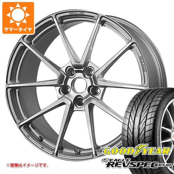 サマータイヤ 225/40R18 88W グッドイヤー イーグル レヴスペック RS-02 TWS モータースポーツ T66-GT 8.0-18 タイヤホイール4本セット
