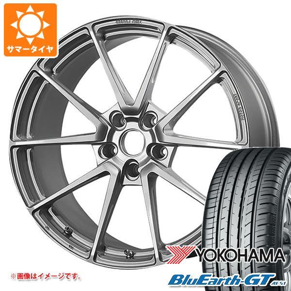 サマータイヤ 225/40R18 92W XL ヨコハマ ブルーアースGT AE51 TWS モータースポーツ T66-GT 8.0-18 タイヤホイール4本セット