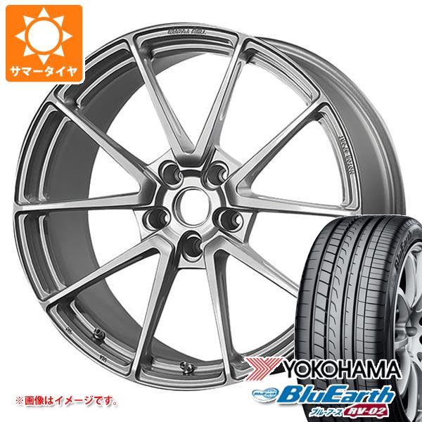サマータイヤ 245/40R19 98W XL ヨコハマ ブルーアース RV-02 TWS モータースポーツ T66-GT 9.0-19 タイヤホイール4本セット