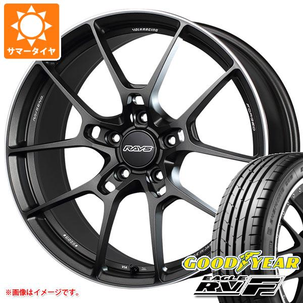 サマータイヤ 245/40R19 98W XL グッドイヤー イーグル RV-F レイズ ボルクレーシング G025 8.5-19 タイヤホイール4本セット