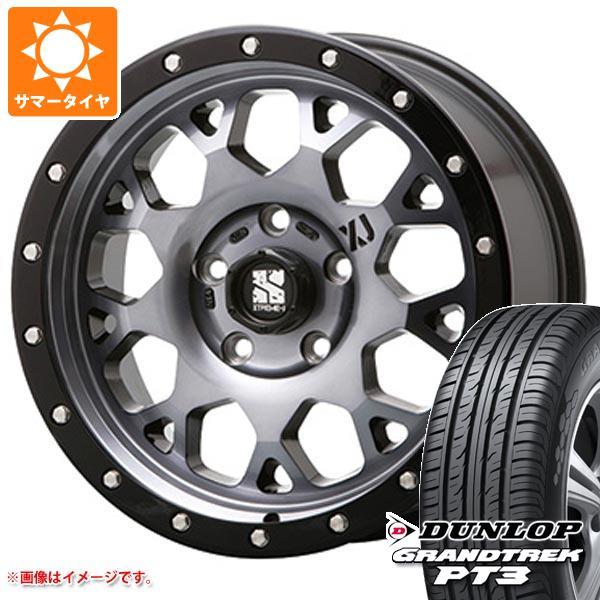 サマータイヤ 215/70R16 100H ダンロップ グラントレック PT3 エクストリームJ XJ04 GS 7.0-16 タイヤホイール4本セット