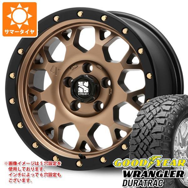 サマータイヤ 265/70R17 121/118Q グッドイヤー ラングラー デュラトラック エクストリームJ XJ04 MB 8.0-17 タイヤホイール4本セット