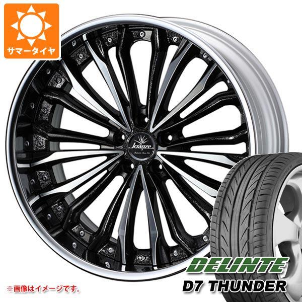 サマータイヤ 265/30R22 97W XL デリンテ D7 サンダー クレンツェ フェルゼン 9.0-22 タイヤホイール4本セット