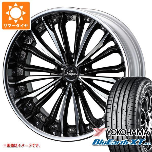 サマータイヤ 235/55R19 101V ヨコハマ ブルーアースXT AE61 クレンツェ フェルゼン 8.0-19 タイヤホイール4本セット