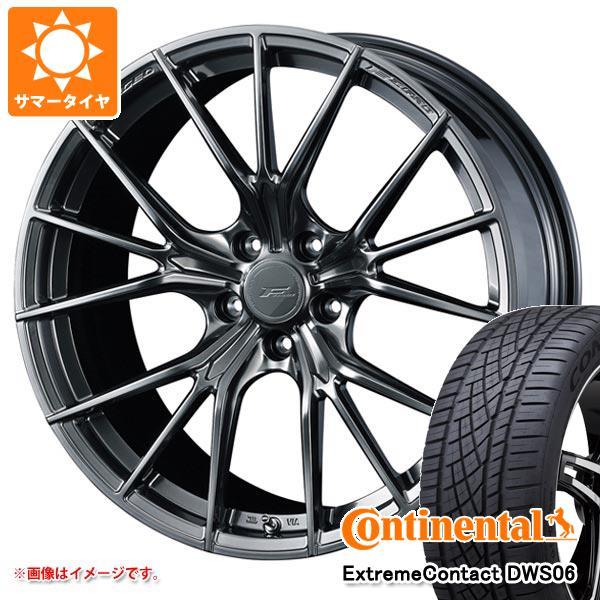 サマータイヤ 245/45R20 103Y XL コンチネンタル エクストリームコンタクト DWS06 F ゼロ FZ-1 8.5-20 タイヤホイール4本セット