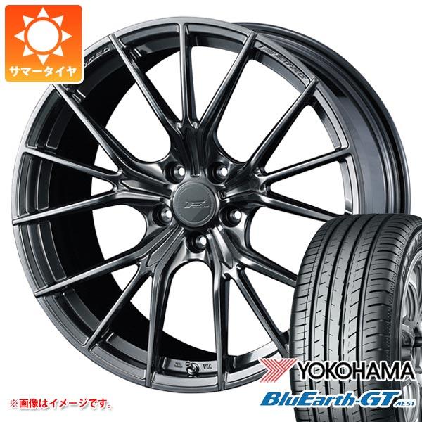 サマータイヤ 245/45R19 98W ヨコハマ ブルーアースGT AE51 F ゼロ FZ-1 8.0-19 タイヤホイール4本セット