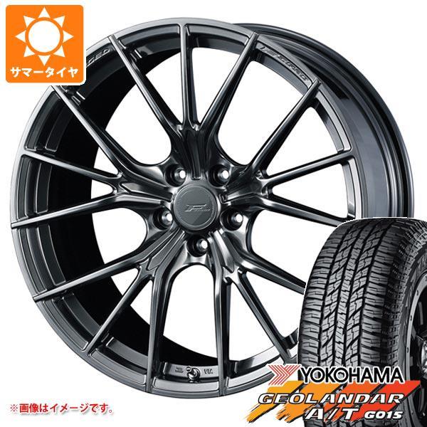 サマータイヤ 235/55R18 104H XL ヨコハマ ジオランダー A/T G015 ブラックレター F ゼロ FZ-1 8.0-18 タイヤホイール4本セット