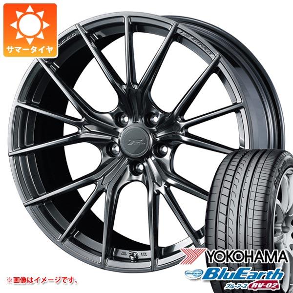 サマータイヤ 245/40R19 98W XL ヨコハマ ブルーアース RV-02 F ゼロ FZ-1 8.0-19 タイヤホイール4本セット