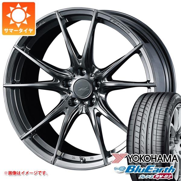 サマータイヤ 245/40R19 98W XL ヨコハマ ブルーアース RV-02 F ゼロ FZ-2 8.0-19 タイヤホイール4本セット