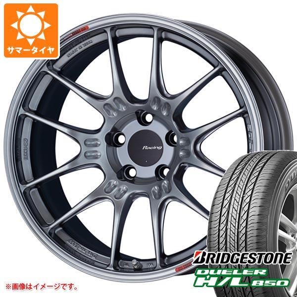 サマータイヤ 225/60R18 100H ブリヂストン デューラー H/L850 ENKEI エンケイ レーシング GTC02 7.5-18 タイヤホイール4本セット