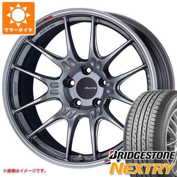 サマータイヤ 225/45R18 95W XL ブリヂストン ネクストリー ENKEI エンケイ レーシング GTC02 8.0-18 タイヤホイール4本セット