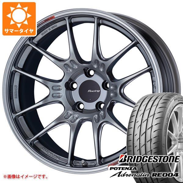 サマータイヤ 225/45R18 95W XL ブリヂストン ポテンザ アドレナリン RE004 ENKEI エンケイ レーシング GTC02 8.0-18 タイヤホイール4本セット