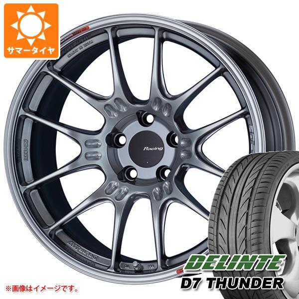 サマータイヤ 225/35R19 88W XL デリンテ D7 サンダー ENKEI エンケイ レーシング GTC02 8.0-19 タイヤホイール4本セット