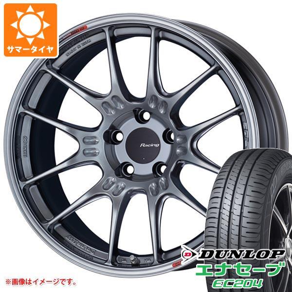 サマータイヤ 225/50R18 95V ダンロップ エナセーブ EC204 ENKEI エンケイ レーシング GTC02 7.5-18 タイヤホイール4本セット