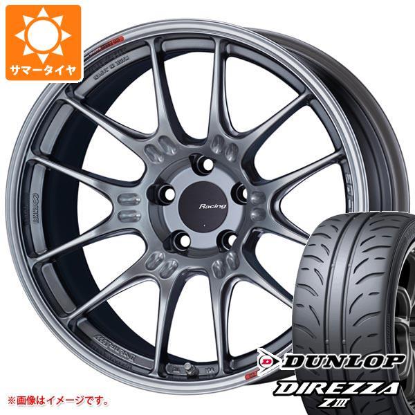 サマータイヤ 245/40R19 94W ダンロップ ディレッツァ Z3 ENKEI エンケイ レーシング GTC02 8.5-19 タイヤホイール4本セット