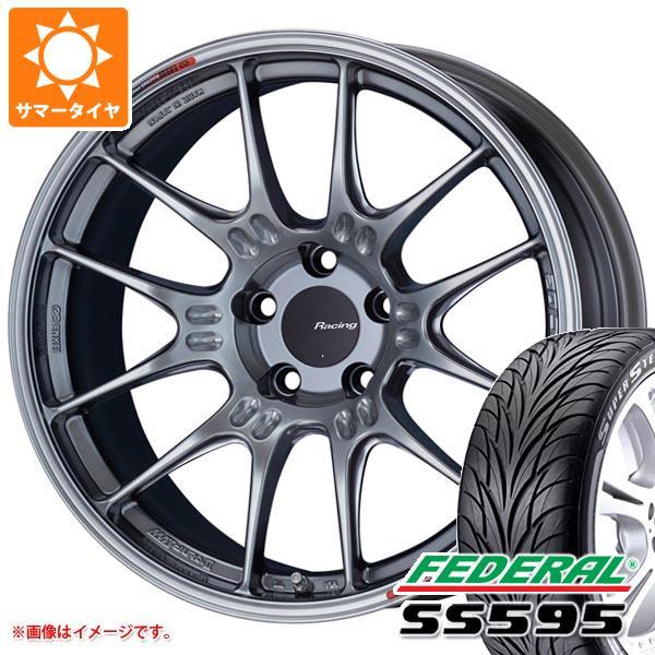 サマータイヤ 265/30R19 89W フェデラル SS595 ENKEI エンケイ レーシング GTC02 9.0-19 タイヤホイール4本セット