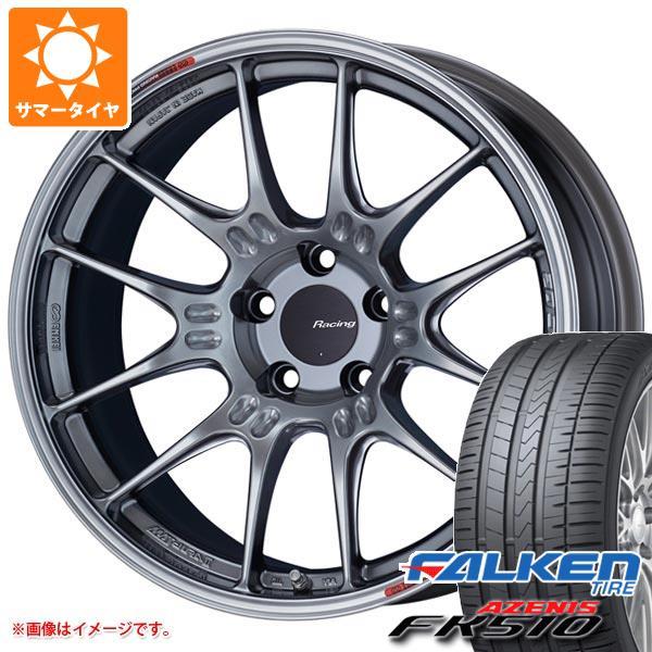 サマータイヤ 245/50R18 104Y XL ファルケン アゼニス FK510 ENKEI エンケイ レーシング GTC02 8.0-18 タイヤホイール4本セット