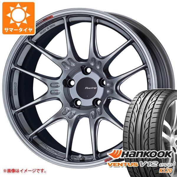 サマータイヤ 215/35R19 85Y XL ハンコック ベンタス V12evo2 K120 ENKEI エンケイ レーシング GTC02 7.5-19 タイヤホイール4本セット