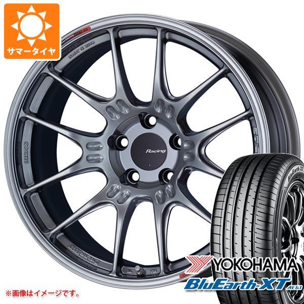 サマータイヤ 225/50R18 95V ヨコハマ ブルーアースXT AE61 ENKEI エンケイ レーシング GTC02 7.5-18 タイヤホイール4本セット