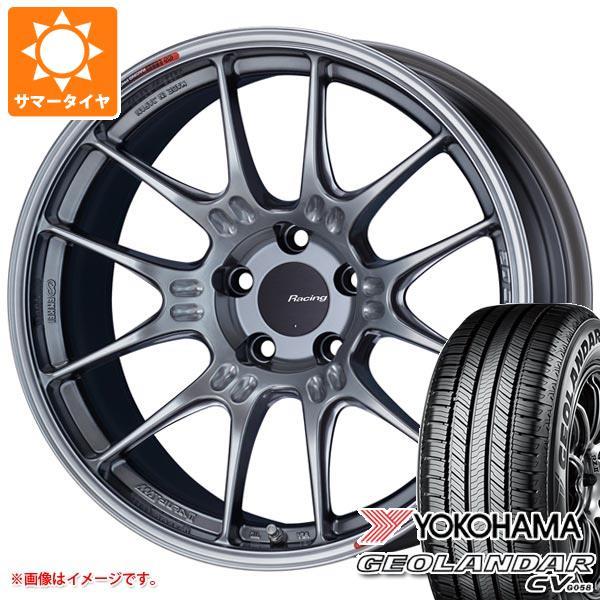サマータイヤ 235/50R18 97V ヨコハマ ジオランダー CV 2020年4月発売サイズ ENKEI エンケイ レーシング GTC02 8.0-18 タイヤホイール4本セット