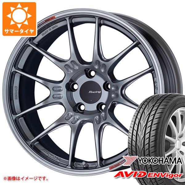 サマータイヤ 245/45R19 98W ヨコハマ エービッド エンビガー S321 ENKEI エンケイ レーシング GTC02 8.5-19 タイヤホイール4本セット