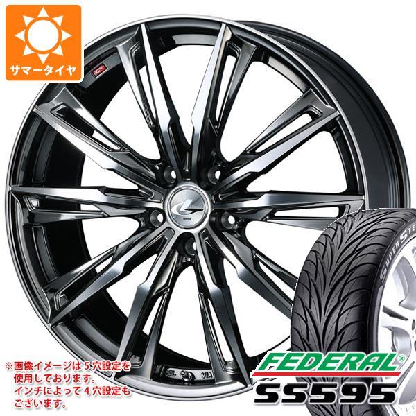 正式的 サマータイヤ フェデラル 235 タイヤホイール4本セット 8.0-18/40R18 91W フェデラル SS595 レオニス GX 8.0-18 タイヤホイール4本セット, ブールミッシュ:2568b497 --- kventurepartners.sakura.ne.jp