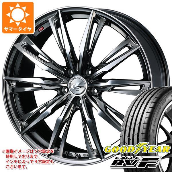 サマータイヤ 245/35R20 95W XL グッドイヤー イーグル RV-F レオニス GX BMCミラーカット 8.5-20 タイヤホイール4本セット