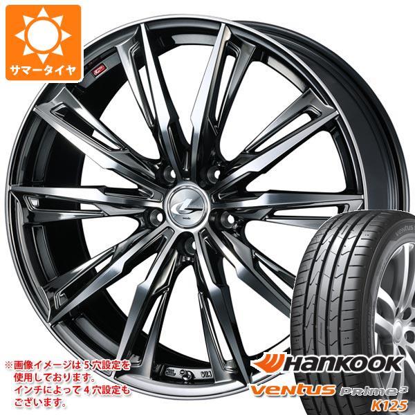 サマータイヤ 155/55R14 69V ハンコック ベンタス プライム3 K125 レオニス GX 4.5-14 タイヤホイール4本セット